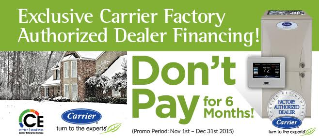 Exclusive Carrier Financing Offer Only By Econoair – Don't Pay For 6 Months