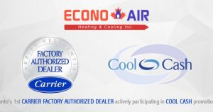 Proud To Receive Carrier Factory Authorized Dealer Status